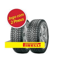Kit 2 Pneu Aro 16 Pirelli 235/60r16 100h Scorpion Atr