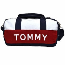 Tommy Bolsa Mini Duflle Feminina Original Nova Importada &