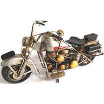 Motocicleta Antiga Vintage Retrô Decoração Vários Modelos
