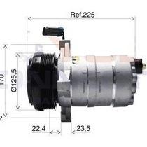 Compressor Ar Condicionado Gm Silverado 6cc - Novo Sem Juros