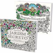 Floresta Encantada E Jardim Secreto 2 Livros Frete 10 Reais