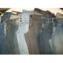 Lote 6 Calças (38) Semi Novas Roupas Usadas Jeans Feminino
