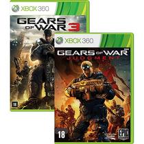 Combo Gears Of War 3 + Gears Of War Judgment