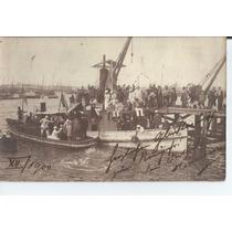 Porto De Montevideo, Uruguai, Usado Para A Alemanha Em 1001
