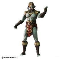 Mortal Kombat X - Kotal Kahn- Mezco - P Entrega - Lançamento