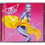 Cd Aerosmith Just Push Play 2001 Sony Music Ótimo Estado
