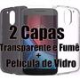 Capa Capinha + Pelicula Motorola Moto G4 Plus 2016
