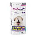 Bravecto Anti Pulgas E Carrapatos Para Cães De 40kg A 56kg