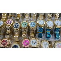 Relógios Femininos Baratos Para Revenda Kit Com 10 Unidades