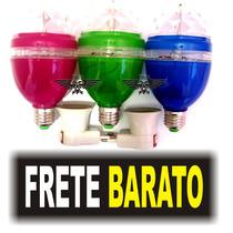 Lampada Led Giratorio Iluminacao Festa Eventos Produto Novo!