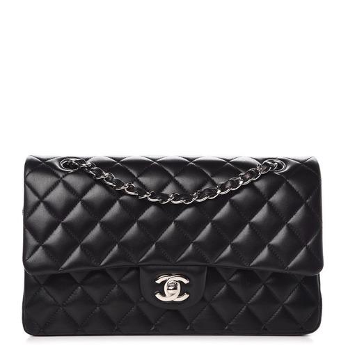 9d4354ee1 Bolsa Chanel Classic Flap Medium Preta - Pronta Entrega. R$ 4599