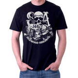Camiseta SAMCRO Skull Sons of Anarchy
