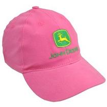 Boné John Deere Femenino Rosa Pink 100% Original