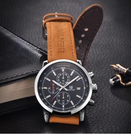 Relógio Benyar Sport Cronometro Analógico Funcional a358ea4191