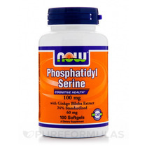 Fosfatidilserina 100 Mg - 100 Cápsulas Por Empresa