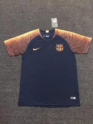 c1e7242ba4 Camisa Barcelona Treino Azul 2018 19- Frete Grátis. R  170