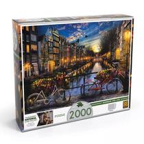 Quebra Cabeça Verão Em Amsterdã 2000 Peças - Grow