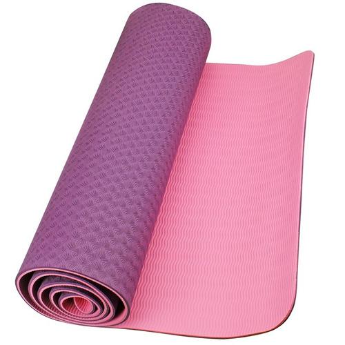 b998ab7a5 Tapete Yoga Tpe Mat Pilates Ginástica 173x61x0