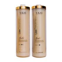 Y-kas Progressiva Liss Treatment Kit Ouro - 2x1000ml