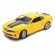 Chevrolet Camaro Ss 2010 1:24 Maisto Amarelo