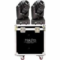Par Moving Head Spot Led 60 Watts Shot Dmx 14ch Case Oferta