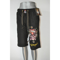 Ed Hardy Bermuda By Christian Audigier100% Original Love Kil
