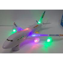 Avião Brinquedo Boeing 747 - 300 Luxury Airbus Eletronico