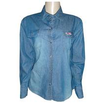 Camisa Social Hollister - Jeans (feminina) + Frete Gratis