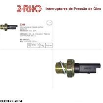 Interruptor De Pressão Do Óleo Peugeot 206, 307 (cebolinha)