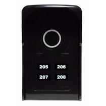 Interfone Coletivo Para 4 Apartamentos Touch Lider