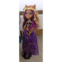 Monster High 13 Wishes Party Doll - Clawdeen