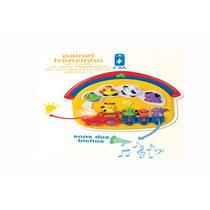 Brinquedo Painel Trenzinho Musical Infantil Original Milla
