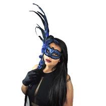 Mascara Veneziana,baile,carnaval,com Penas,halloween,festas