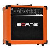Amplificador Borne Strike G30 15w Laranja 220v/110v (bivolt)