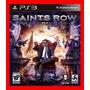 Saints Row Iv 4 Ps3 Psn Play3 Estilo Gta