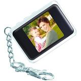 Chaveiro Porta-retrato Digital Coby Branco Lcd 1.5 Polegadas