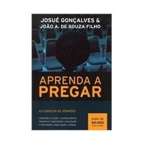 Livro Aprenda A Pregar - 63 Esboços De Sermões