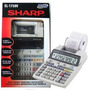 Calculadora De Mesa Sharp El 1750v Com Bobina Original