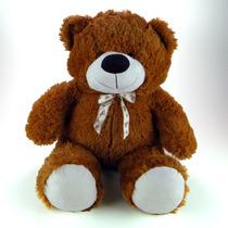 Urso De Pelúcia 65cm Marrom - Grande