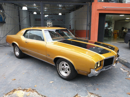 1972 OLDSMOBILE CUTLASS V8  350 BELÍSSIMO MUSCLE CAR
