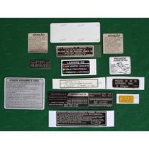 Adesivos Advertencia Honda Cbx 750 88 Originais Hothmans