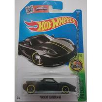 Miniatura Hot Wheels Porsche Carreta Gt Preto Fosco Mattel