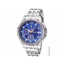 Relógio Magnum Masculino Ma32461 Lançamento Cronógrafo