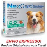 Nexgard Antipulgas E Carrapatos 10 A 25kg C/3 Val 2019