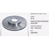 Par De Disco Freio Fiat 500, Bravo, Idea, Tempra, Tipo Hf32