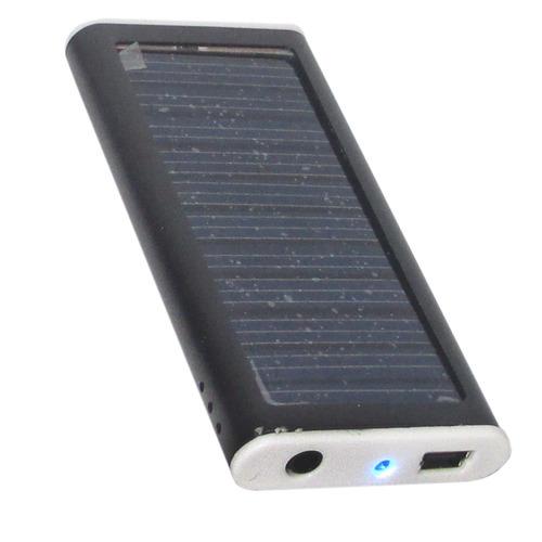 Carregador Solar De Mp3, Mp4, Celular, Ipod, Máquina Digital