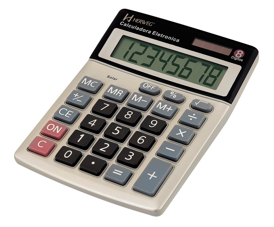8500 calculadora solar de mesa 8 d gitos branca r 45