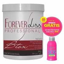 Forever Liss Professional Btox Argan Alisa Reduz Volume 1kg
