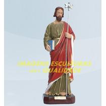 Escultura São Judas Tadeu Linda Imagem 20cm Preço Fabrica Ml