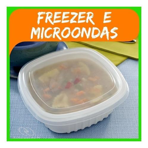 Marmita Pote 400ml Caldo Sopa Freezer Microondas G308 50uni